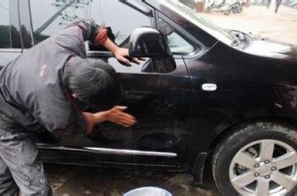 10块钱解决汽车补漆大问题,补漆就是这么简单